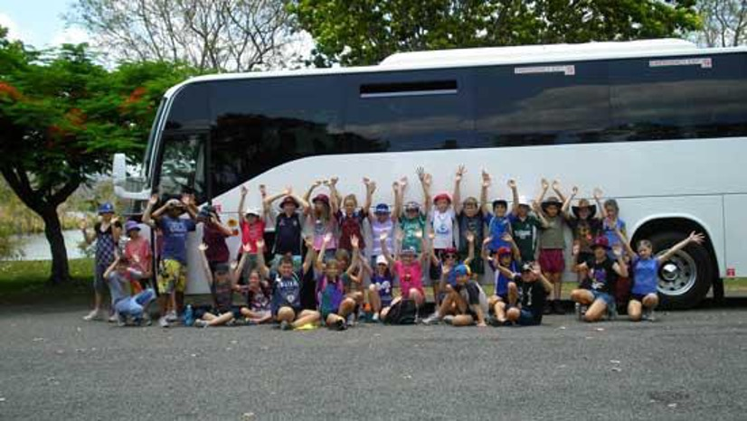 School Bus from Sydney Coaches